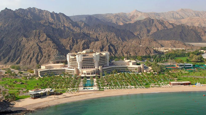 Hôtel Al Bustan.
