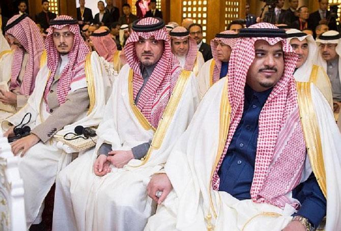 LA 3e & 4e GENERATION DE PRINCES : PRINCE AHMAD BIN FAHD BIN SALMAN, PRINCES SAUD, NAÏF et RAKAN BIN SALMAN