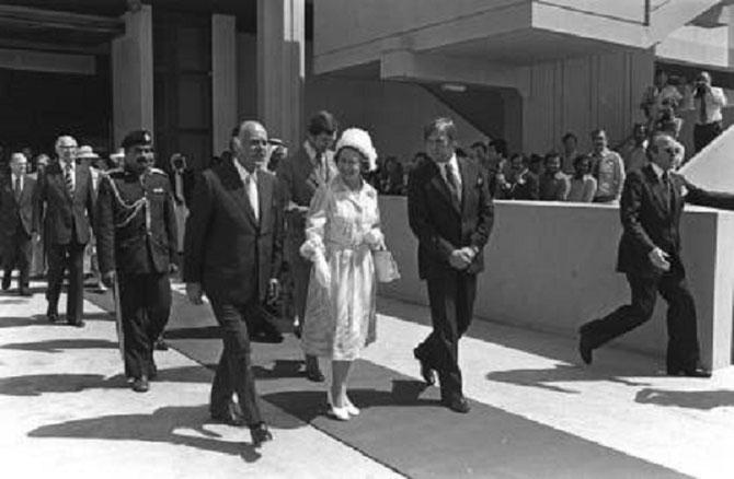 1979. VISITE OFFICIELLE DE LA REINE ELISABETH