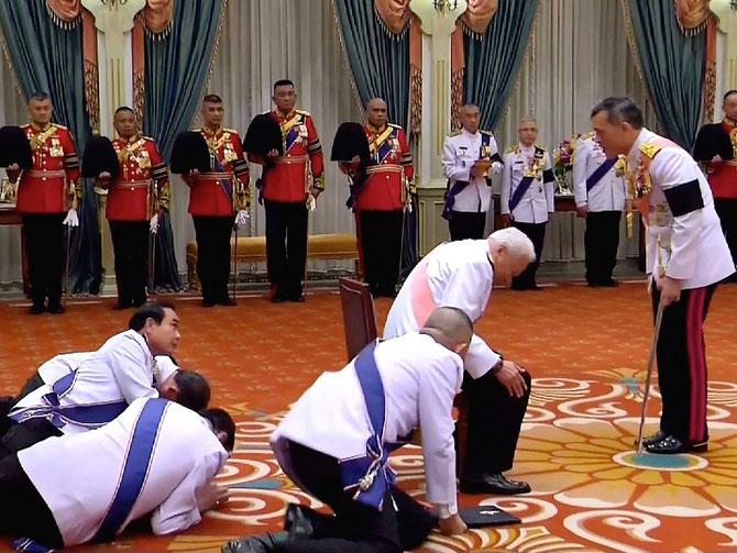 Le nouveau Roi depuis le 1er Décembre 2016 :  Sa Majesté RAMA  X
