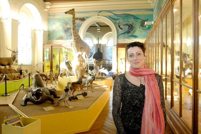 JUIN 2014. Anne MEDARD BLONDEL Directrice du MUSEUM D'HISTOIRE NATURELLE de MARSEILLE.  C* desoceansetdeshommes.org