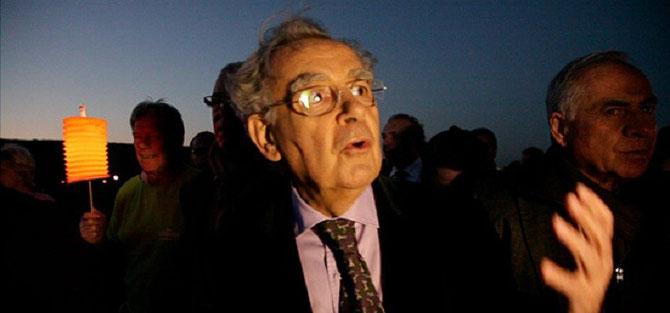 BERNARD PIVOT, PRESIDENT DU COMITE DE SOUTIEN. Photo AURELIEN IBANEZ. MERCI INFINIMENT