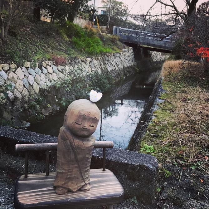CANAL  EN ETE.  KYOTO.  C* MadameCiao