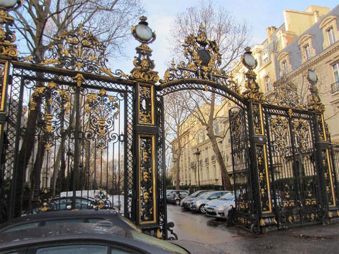 ENTREE DU MUSEE CERNUSCHI (PARC MONCEAU) 7 AVENUE VELASQUEZ 75008 PARIS. MERCI à ASSOCIATION LEESIULUNG.COM