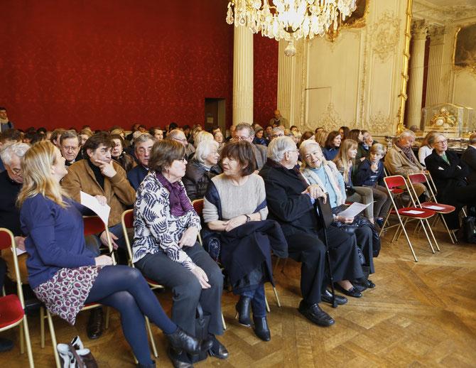 g. à dte. Madeleine LEFEBVRE-GUERMONPREZ, Vera DUPUIS Historienne, Françoise épouse d'Alain SOUCHON, Micky WOLFSON,  Nicole SALINGER.  C* J-Philippe METSERS