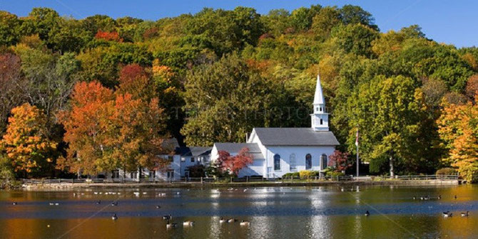 ST.JOHN'S CHURCH, COLD SPRING HARBOR.