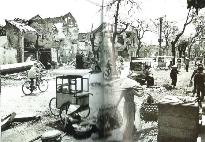 HUË après l'offensive du Têt 1968. Extraite du Livre de Giao.