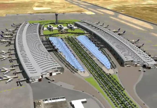 2016. LE NOUVEAU TERMINAL de L'AEROPORT INTERNATIONAL PRINCE MOHAMMED BIN ABDULAZIZ.