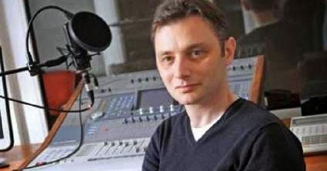 LE JOURNALISTE LUCA NICULESCU à RFI