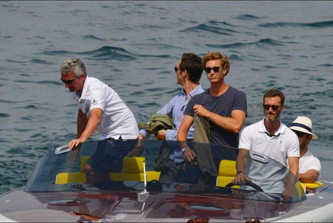 Vendredi 31 Juillet 2015, Isolino San Giovanni . Arrivée de Pierre pour les derniers préparatifs