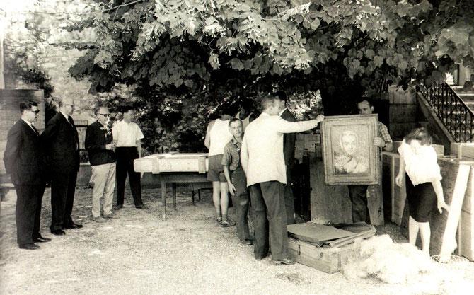 EXPO. PAVILLON VENDÔME 1961. ARRIVEE de VIENNE : 19 dessins, une vingtaine d'aquarelles, 22 tableaux peu connus.  Choisis par Fritz NOVOTNY Dr du Palais du Belvédère.