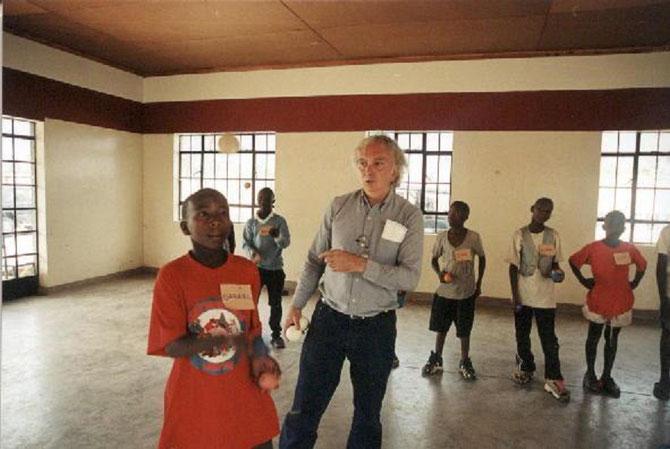 LE PROFESSEUR ELIO TRAINA à NAIROBI, EN CE TEMPS Là.