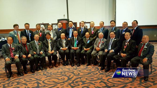 Les actuels dirigeants des différentes Communauté Hmong aux Etats-Unis
