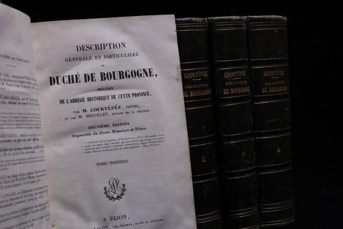 L' ABBE COURTEPEE Y FAIT L'ELOGE DE L'ALIGOTE.