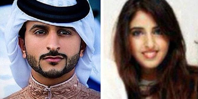 SHEIKHA SHAIKHA et SON EPOUX SHEIKH NASSER AL KHALIFA. DE BAHREIN.
