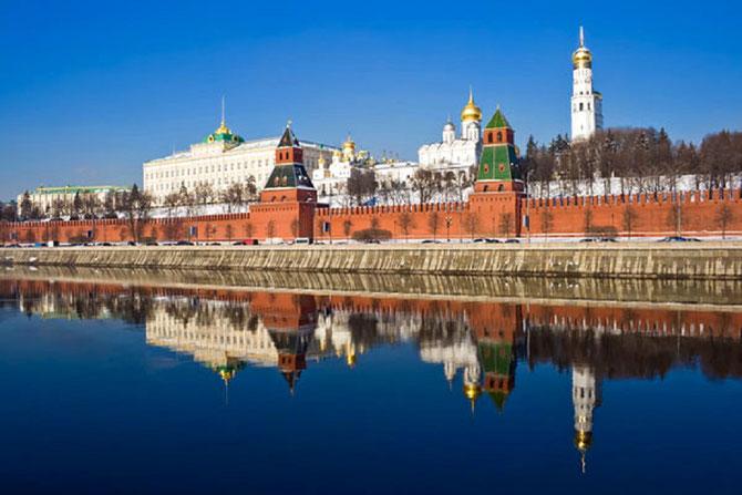Moscou. LE KREMLIN