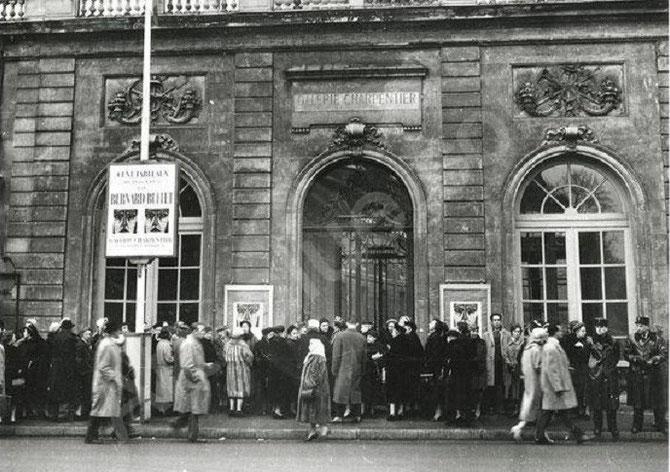 1958 LA GALERIE CHARPENTIER   76  FAUBOURG ST HONORE. DEPUIS 1988, SIEGE DE SOTHEBY'S FRANCE.  C* DANIEL FRASNAY