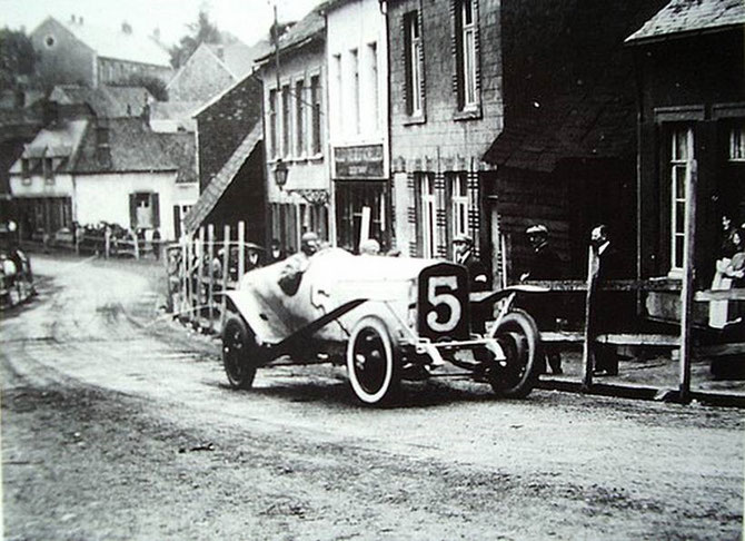 1922 COUPE BOILLOT. ABANDON AU 3è TOUR.