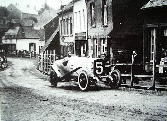 1922 COUPE BOILLOT. ABANDON AU 3è TOUR.