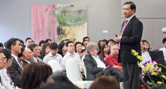 LIM MING YAN, PRESIDENT ET GROUP CEO de CapitaLand.  APPEL à DES INVESTISSEURS PRIVES POUR LES 20% RESTANT. UNE TONTINE à la mode MAG T.