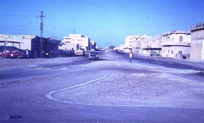 1970. LA RUE PRINCIPALE DE SHARJAH