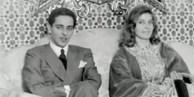1961. LA PCESSE LAMIA EL-SOLH née en 1937. Epouse du très regretté Prince MOULAY ABDALLAH