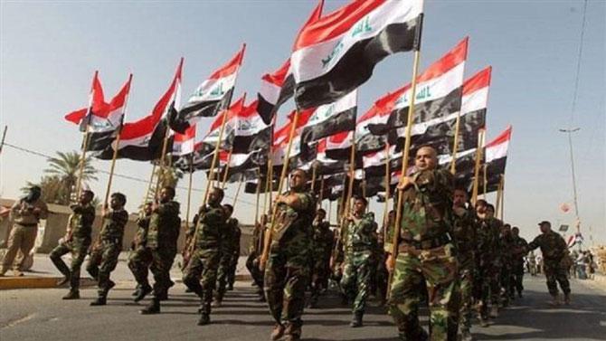 Les forces paramilitaires hach-al-chaabi. Eux ils ont la haine au ventre et la rage au coeur !!!!  La guerre finie qui osera les désarmer ? L'ONU ?