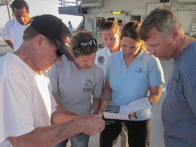 29 Mars 2012. A la recherche de poissons rares....
