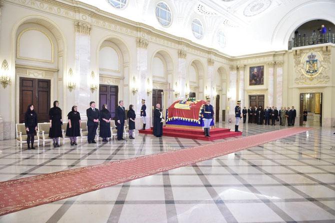 SAMEDI 13 AOÛT 2016. PALAIS ROYAL DE BUCAREST (AUJOURD'HUI MUSEE NATIONAL).  C* PRINCE RADU DE ROUMANIE