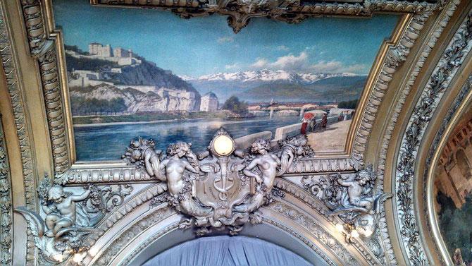 GRENOBLE par CHARLES BERTIER (1er Oct.1860 - 26 Juillet 1924 Grenoble). PAYSAGISTE.