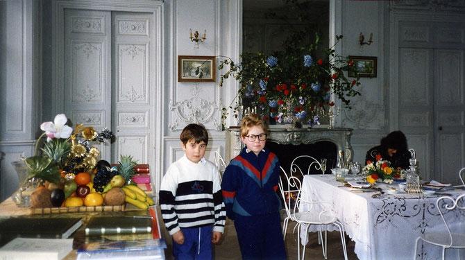 Vincent Delabarre et son neveu : Réceptionnistes