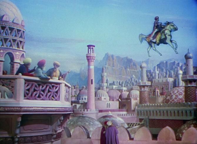 """Une autre scène du """"Voleur de Bagdad"""" qui m' enchante encore 70 ans après."""
