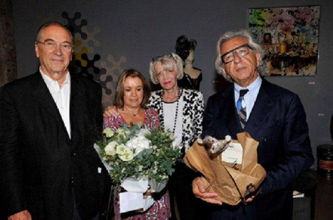 SEPTEMBRE 2014. g.à dte. Jacques ROCCA SERRA Pt. de LA M.A.M.A, Florence FOURNIER, Jocelyne ZABALA-GRAINDORGE, André BENDANO, Pt. DE LA CMAR PACA