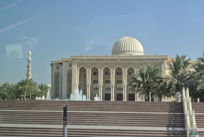AMERICAN UNIVERSITY SHARJAH - AUS -   fondée en 1997, 100 ans après  CSU 1887. Sheikha LUBNA y a obtenu son EXECUTIVE MBA