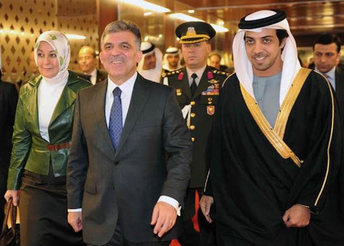 2012; Le Prince Mansour accueille le président Abdullah GUL et son épouse