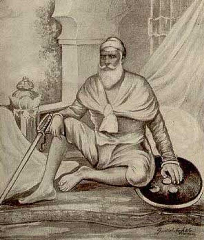 1 / BABA ALA SINGH. 1691+1765. Prend le Titre de Maharajah de Patiala en 1763. Marié en 1707 à Rani FATEH KAUR (MAI FATTO), régente qui sut imposer son 2è fils Amar d'où le ressentiment de son fils aîné........