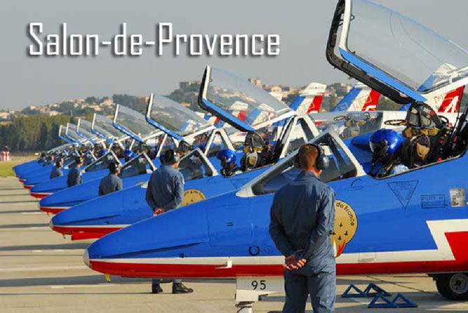 ECOLE DE L'AIR AN 2000. LA PATROUILLE DE FRANCE.