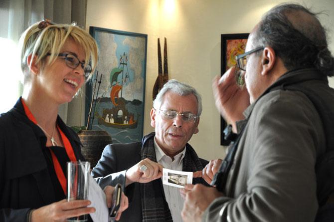 MARIA SEBNAT MARTIN de L'AGENCE TRAVEL COMPAGNY, JEAN-FRANCOIS CLEMENT. C* ALBAN MARISSAL