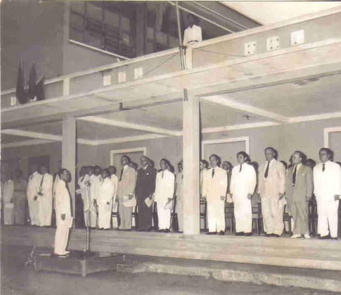 1954. DISCOURS DE RENTREE  ECOLE NATIONALE DES BEAUX-ARTS DE GIADINH.