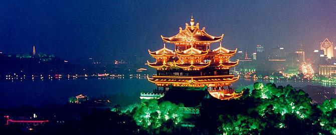 HANGZHOU CULTURAL HILLS TOWER. LAC DE L'OUEST