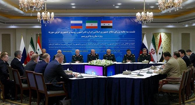 I0 JUIN 2016. TEHERAN CONFERENCE  TRIPARTITE RUSSE, IRAN, SYRIE C* presstev.ir