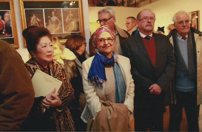 MAGUY TRAN, MADAME COLETTE BABOUCHIAN représentant la COMMUNAUTE URBAINE MPM et Son Exc.Monsieur VLADIMIR POZDNYAKOV, CONSUL GENERAL DE RUSSIE  à MARSEILLE.