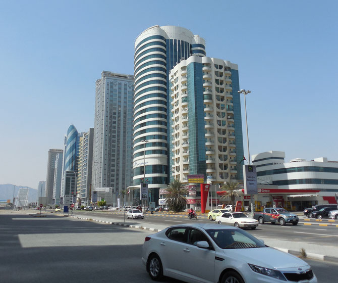 BUILDINGS FUJAIRAH CITY