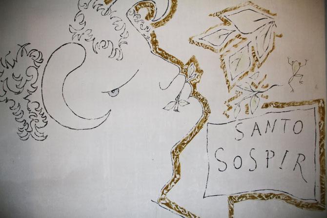 LES VISAGES DES DIEUX tatoués à la Villa ressemblent à Jean MARAIS, grand amour de Jean COCTEAU