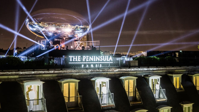 "AV. KLEBER 16 Avril 2015. GALA OUVERTURE ""THE PENINSULA PARIS""  C* THE PENINSULA HÔTELS""."