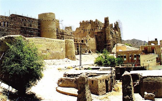 13 kms de fortifications en cours de restauration (photo 1996).