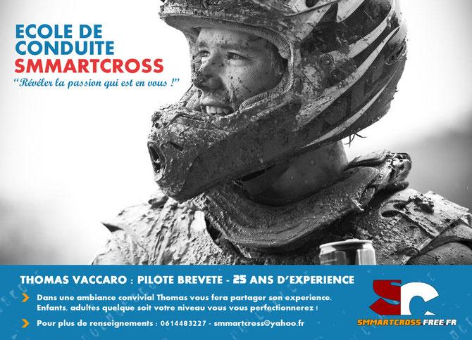 Ecole de conduite Smmartcross - Thomas Vaccaro