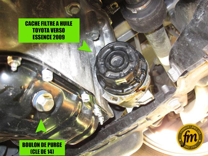 Vidange Toyota Verso modèle essence