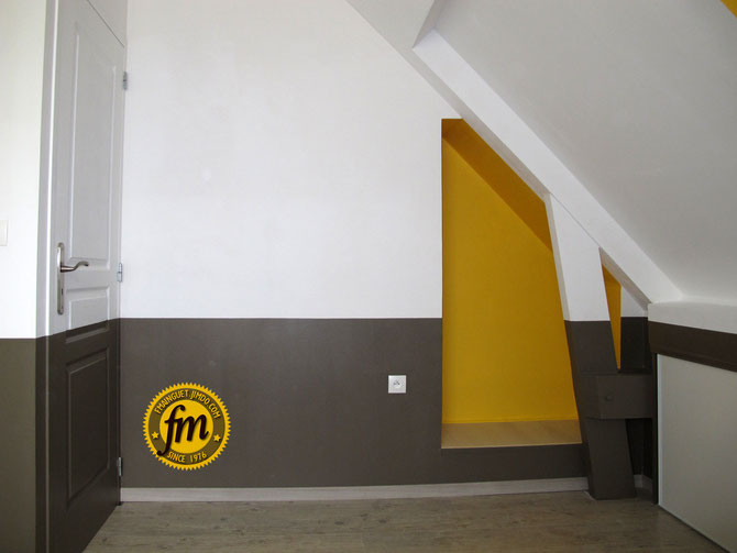 Création d'une niche murale