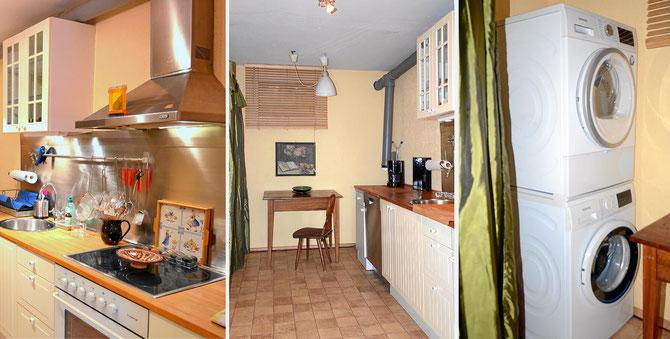 Möbilierte Wohnung mit Küche